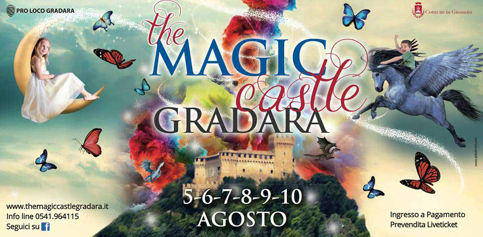 La magia di uno spettacolo senza tempo… The Magic Castle Gradara