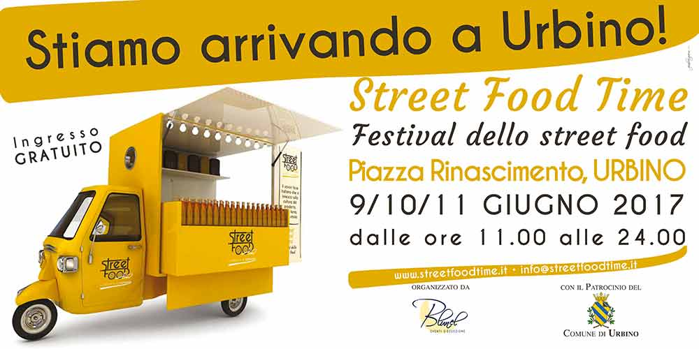 Un weekend dedicato al gusto con Street Food Time Urbino